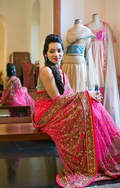 Manish Malhotra Bridal Sari n also mehndi sari