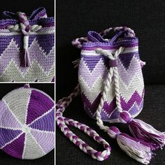 MINI Purple Mochilla Bag