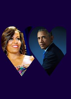 Our 44th President Barack Obama and his First Lady Michelle Obama