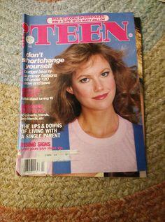 July 1982 'Teen Magazine Girl Fashion Beauty Women Seventeen Young Miss   eBay
