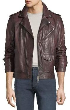 Leather jackets are a vital component to every single man s closet. Men need  to have outdoor jackets for several circumstances as well as some varying  ... e67fa8bb108