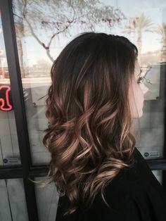 130 seductive chestnut hair color ideas to try today – page 1 Brown Ombre Hair, Ombre Hair Color, Chestnut Hair, Balayage Blond, Curly Hair Styles, Medium Hair Styles, Pinterest Hair, Hair Images, Shoulder Length Hair