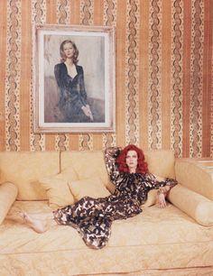 "Malgosia Bela in ""Testa Rossa"" byVenetia ScottforW Magazine,August 2014"