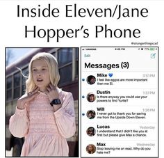 Read 6 from the story Memes Stranger Things by (TheSilentScream) with 932 reads. Stranger Things Quote, Stranger Things Have Happened, Eleven Stranger Things, Stranger Things Netflix, Saints Memes, Prince Charmant, Stranger Danger, Movies And Series, Fandoms