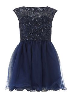 Chi Chi Lace and sequin prom dress size 10  VERY WANT FOR NYE!!!