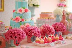 Cute pastel party