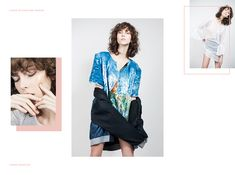 Stories Collective / A dash of white and shadow / Photography Thais Vandanezi / Model Lorena Maraschi at Way / Make up & Hair Vanessa Sena / Design Eliana Dedda / All clothing Heloisa Faria #fashion #editorial #photography #layout #pink