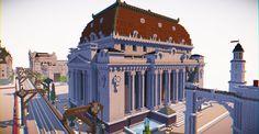Spleef Arena & Masonic Lodge Minecraft Project