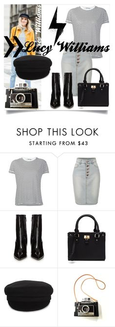 """""""Lucy Williams inspired"""" by rhianna-alexandre on Polyvore featuring T By Alexander Wang, LE3NO, Balenciaga and Étoile Isabel Marant"""