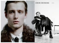 "For Dior Homme's Winter 2014 campaign, Notes Of A Day, creative director Kris Van Assche channeled the video art of German ""social sculptor"" Joseph Beuys. The idea being ""masculinity as performance,"" he enlisted Willy Vanderperre to shoot moving and still images"