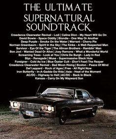 supernatural mix - aka best road trip mix