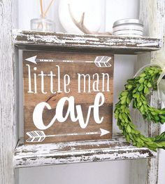 Little man cave woodland nursery boho by WoodenThatBeSomethin