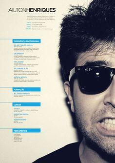 30 Great Examples Of Creative CV Resume Design | Bashooka | Cool Graphic & Web Design Blog