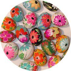 Ukrainian Wood Pysanky Easter Eggs From Ukraine