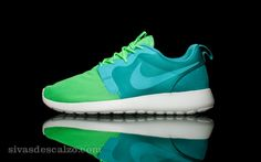 Nike Roshe Run HYP QS Verde / Azul
