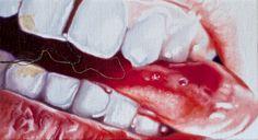 Current exhibition: Philippe Huart – Ceremony / Sacrifice  Philippe Huart, Cut #9 2014, Oil on canvas Öl auf Leinwand, 12 x 22 cm
