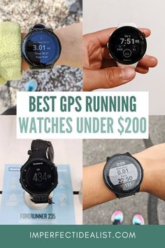 Looking for a GPS running watch on a budget? I'm a GPS watch nerd who primarily runs marathons (half and full). Here are my top 3 picks, plus tips to save money on GPS watches. | GPS watch Garmin | GPS watch women | GPS watch men
