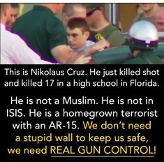 ANOTHER WHITE TERRORIST MURDERS 17 CHILDREN IN SCHOOL!! Pay Attention how trump address this Horrific Massacre...the same way he did the White Vegas Mass Murderer, the White Mass Murderer that Killed those Poor Innocents In Church & Charlottesville. No Big Deal because they weren't MUSLIM!!!
