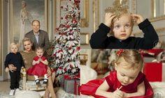Princess Charlene and Prince Albert release Christmas card, plus new portraits of Monaco twins