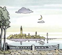 Hugo Pratt (Italian graphic novelist) - Corto Maltese: Fable of Venice (1981)