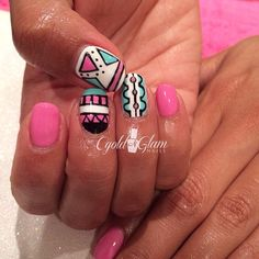 Instagram photo by cgoldnglam #nail #nails #nailart