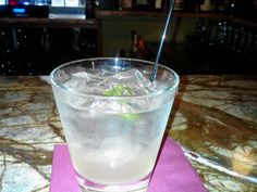 Moscow Mule  Ketel One Vodka  Ginger infused gingerale  Fresh lime juice  Dash if bitters  Repeat