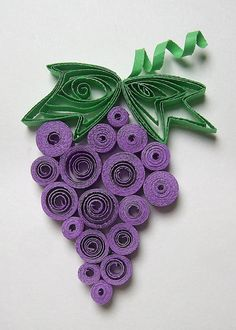 labor day crafts for kids Fruit craft idea for kids Crafts For Seniors, Paper Crafts For Kids, Diy For Kids, Arts And Crafts, Paper Quilling Designs, Quilling Paper Craft, Quilling Patterns, Labor Day Crafts, Fruit Crafts
