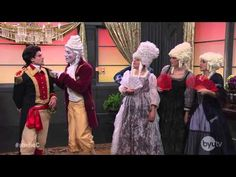 Studio C - 18th Century Man.  I CAN'T STOP WATCHING THIS O___O