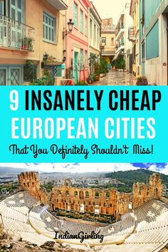 Planning to travel Europe cheap soon? Here are 9 European cities that you can easily cover on a tiny budget. The post also includes travel tips for Europe, top booking websites for hotels and flights and how to save money while traveling. Travel Tips For Europe, Backpacking Europe, Europe Destinations, Budget Travel, Travel Hacks, Travel Essentials, Europe Europe, Travel Abroad, Cheap European Cities