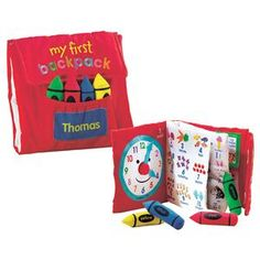 Book-in-a-Backpack | Lillian Vernon - Personalized Gifts for Kids | Lillian Vernon