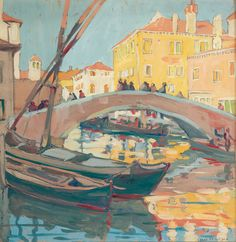 peira:  Jane Peterson (1876-1965): Venice, Late Afternoon (not dated)