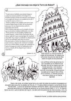El Rincón de las Melli: ¿Qué mensaje nos deja la Torre de Babel?