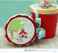 Petite Places School House - Betsy Veldman April 2015