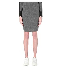 RAG & BONE Nina Wool-Blend Skirt. #ragbone #cloth #skirts