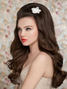 Pictures : Wedding Hairstyles for Long Hair - Big Bridal Hairstyle For Long Hair...omg i love this hair!