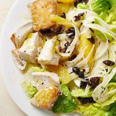 Mahi-Mahi with Fennel, Olives, and Orange Recipe - Bon Appétit Olive Salad, Fish Recipes, Seafood Recipes, Salad Recipes, Fennel Salad, Menu, Cleanse Recipes, Cleanse Diet, Seafood