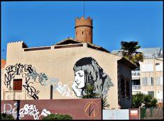 Museu Vallhonrat des de la Pl. de Montserrat Roig