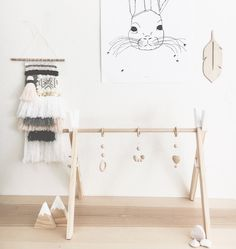 Scandinavian inspired to match our wooden play-gyms, these accessories are a unique one of a kind item that are sure to enhance your babes imagination. In a collaboration with one of instagram's favourites Dove and Dovelet, we have brought you these gender neutral designs available in white, grey and black. Made from BPA free silicone, Eco maple and strung on strong 2mm nylon cord, our play-gym accessories meet the Australian toy safety standards and are completely safe for your...