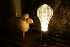 laser etched led light bulb #modern #home #decor #interior #design #lighting #lamp
