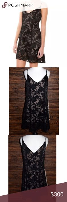 DOLCE VITA Classic Dress Patterned Mini Cocktail Size Small. New Without Tags. $250 Retail + Tax.  • Beautiful floral burnout slip dress featuring  intricate textured detailing throughout, v-neckline & self-tie at back.  • Semi-sheer outer shell, self-lined with a nude mini dress.  • Pull-on style, no closures. • Measurements provided in comment(s) section below.  {Southern Girl Fashion - Closet Policy}   ✔️ Same-Business-Day Shipping (10am CT). ✔️ Reasonable best offer considered when…
