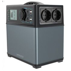 XT-400Wh Energiespeicher mit leistungsstarken 220V, 12V...