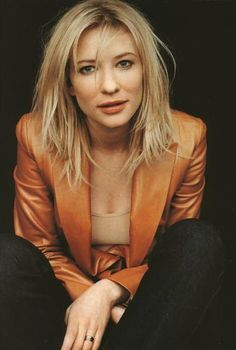 Cate Blanchett - love her look. Cool, sexy and strong. Photo Portrait, Hollywood, Shooting Photo, Famous Women, Celebs, Celebrities, Girl Crushes, Famous Faces, Movie Stars