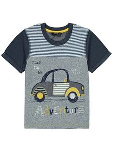 Car T-shirt, read reviews and buy online at George at ASDA. Shop from our latest range in Kids. Beep beep, move out of the way and make way for this brillian...