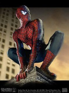 Spider-Man (Tobey Maguire) - Visit to grab an amazing super hero shirt now on sale! Spiderman Sam Raimi, Spiderman Batman Superman, New Spiderman Movie, Spiderman 2002, Best Superhero Movies, Spiderman Suits, Spiderman Spider, Amazing Spiderman, Marvel Comics Superheroes