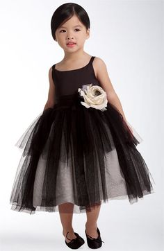 Possible idea for kaitlen, for friends wedding. Us Angels Tulle Ballerina Dress (Infant, Toddler, Little Girls & Big Girls) available at #Nordstrom