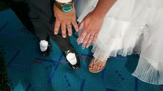 PDX Carpet 'I do': After airport courtship, couple married on first piece of iconic rug (photos)   OregonLive.com