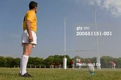 rugby ball over post - Google Search