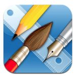 Awesome vector drawing tool for iPad  Check it out.