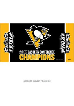 Pittsburgh Penguins 2017 Conference Champions Rally Towel