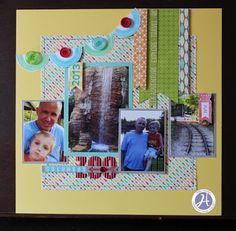 Hampton Art Blog: Jillibean Soup/Happy Camper Stew papers Columbus Zoo Layout